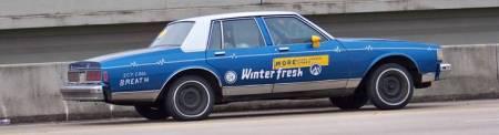 winterfresh car